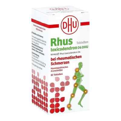 Rhus Tox. D6 Dhu bei rheumatischen Schmerzen Tabletten   bei versandapo.de bestellen