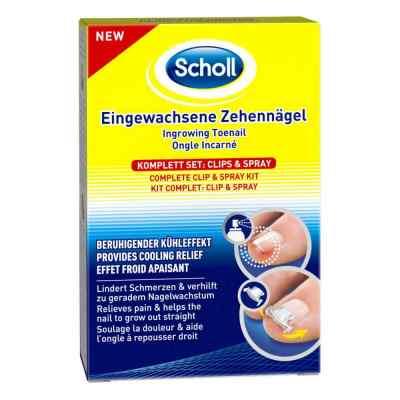 Scholl Eingewachsene Zehennägel Clips & Spray  bei versandapo.de bestellen