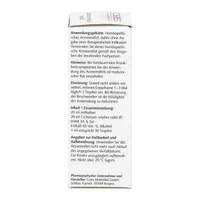 Ceres Cichorium intybus radix Urtinktur  bei versandapo.de bestellen
