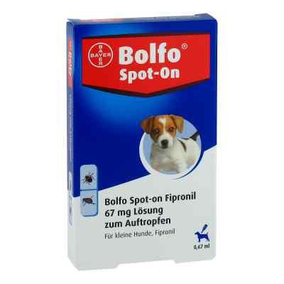 Bolfo Spot-on Fipronil 67 mg Lösung für kleine Hunde  bei versandapo.de bestellen