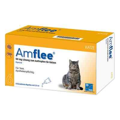 Amflee 50 mg Spot-on Lösung zur, zum Auftropfen für Katzen  bei versandapo.de bestellen