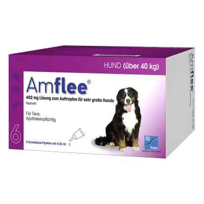 Amflee 402 mg Spot-on Lösung für sehr gr.Hunde 40-60kg  bei versandapo.de bestellen