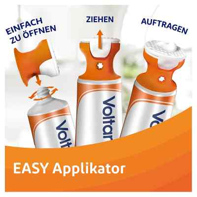 Voltaren Schmerzgel mit EASY Applikator 11,6 mg/g Gel mit Diclof  bei versandapo.de bestellen