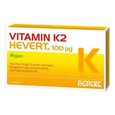 Vitamin K2 Hevert 100 [my]g Kapseln  bei versandapo.de bestellen