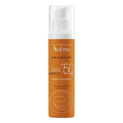 Avene Sunsitive Sonnenfluid Spf 50+ getönt  bei versandapo.de bestellen
