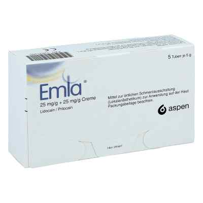 Emla 25 mg/g + 25 mg/g Creme + 12 Tegaderm  bei versandapo.de bestellen