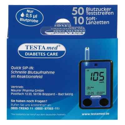 Testamed Glucocheck Advance Teststreif.m.10 Lanz.  bei versandapo.de bestellen