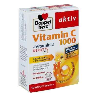 Doppelherz aktiv Vitamin C 1000+vitamin D Depot  bei versandapo.de bestellen