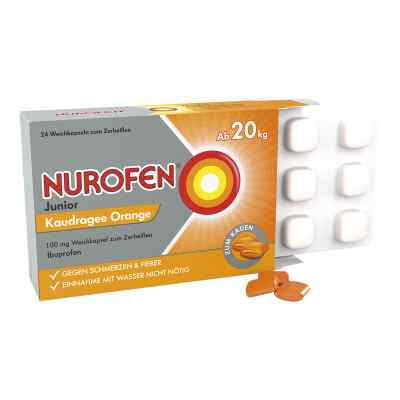 Nurofen Junior Kaudragee Orange 100 mg  bei versandapo.de bestellen