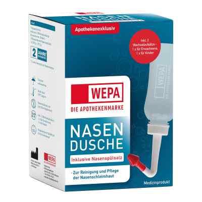 Wepa Nasenspülkanne mit 10x2,95 g Nasenspülsalz  bei versandapo.de bestellen