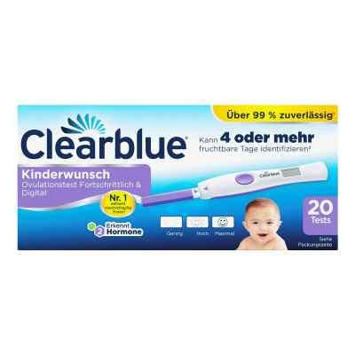 Clearblue Ovulationstest fortschrittlich & digital  bei versandapo.de bestellen