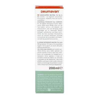 Deumavan Waschlotion sensitiv neutral  bei versandapo.de bestellen