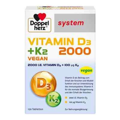 Doppelherz Vitamin D3 2000+k2 system Tabletten  bei versandapo.de bestellen