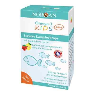 Omega 3 Kids Jelly Fischöl Dragees Vorratspackung Norsan  bei versandapo.de bestellen