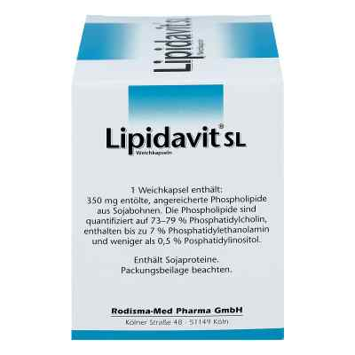 Lipidavit Sl Weichkapseln  bei versandapo.de bestellen