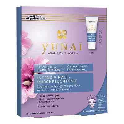 Yunai Feuchtigk.maske 25g+vorber.enzympeeling 4ml  bei versandapo.de bestellen
