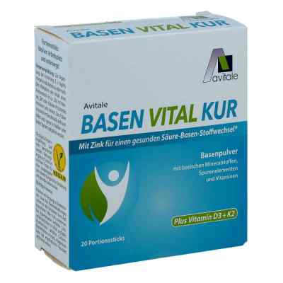 Basen Vital Kur+vitamin D3+k2 Pulver  bei versandapo.de bestellen
