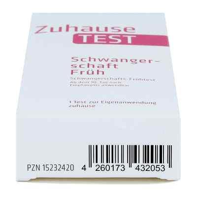 Zuhause Test Schwangerschaft früh Urin  bei versandapo.de bestellen