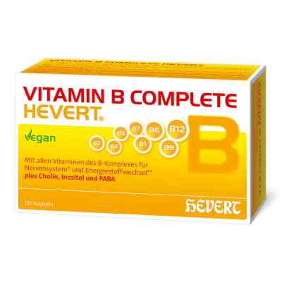 Vitamin B Complete Hevert Kapseln  bei versandapo.de bestellen