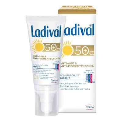 Ladival Sonnenschutz Gesicht Anti-Age & Anti-Pigmentflecken Crem  bei versandapo.de bestellen