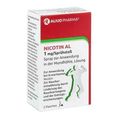 Nicotin Al 1 mg/Sprühstoss Spray zur, zum Anw.i.d.Mundhö.  bei versandapo.de bestellen