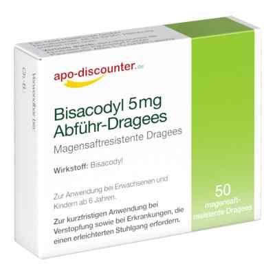 Bisacodyl 5mg Dragees von apo-discounter - bei Verstopfung  bei versandapo.de bestellen