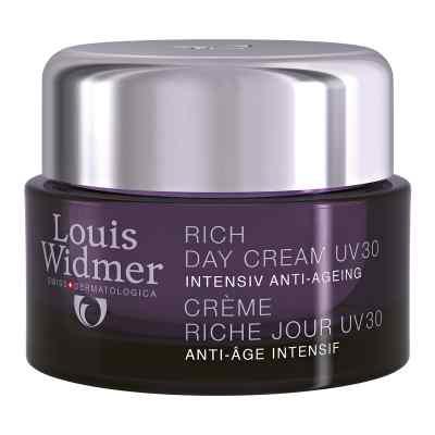 Widmer Rich Day Cream Uv 30 leicht parfümiert  bei versandapo.de bestellen
