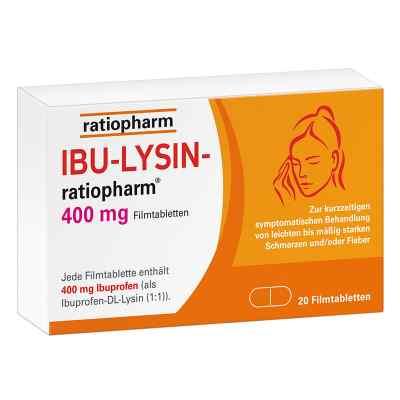 Ibu-lysin-ratiopharm 400 mg Filmtabletten  bei versandapo.de bestellen