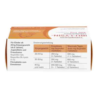 Ibu Lysin-ratiopharm 400 mg Filmtabletten  bei versandapo.de bestellen