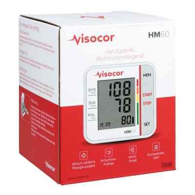Visocor Handgelenk Blutdruckmessgerät Hm60  bei versandapo.de bestellen