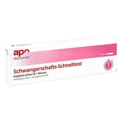 Schwangerschaftstest Schnelltest ab 25ie/l Urin von apo-discount  bei versandapo.de bestellen