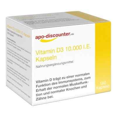 Vitamin D3 Kapseln 10000 I.e. 250 [my]g von apo-discounter  bei versandapo.de bestellen