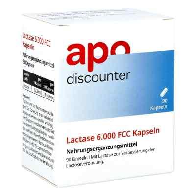 Lactase 6.000 Fcc Kapseln von apo-discounter  bei versandapo.de bestellen