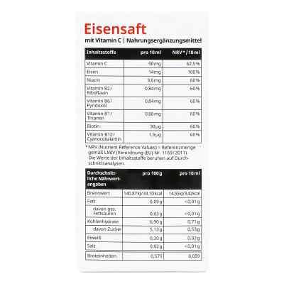 Eisensaft mit Vitamin C von apo-discounter  bei versandapo.de bestellen