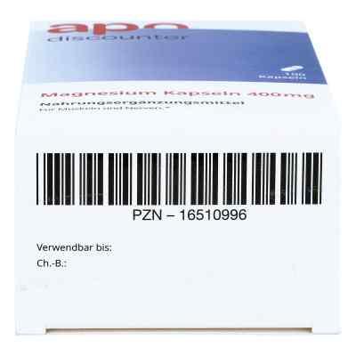 Magnesium Kapseln 400 mg von apo-discounter  bei versandapo.de bestellen