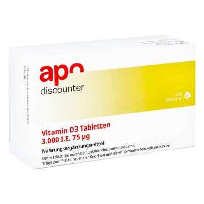 Vitamin D3 Tabletten 3000 I.e. 75 [my]g  bei versandapo.de bestellen