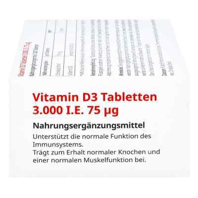 Vitamin D3 Tabletten 3000 I.e. 75 [my]g von apo-discounter  bei versandapo.de bestellen