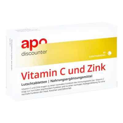 Vitamin C Und Zink Lutschtabletten von apo-discounter  bei versandapo.de bestellen