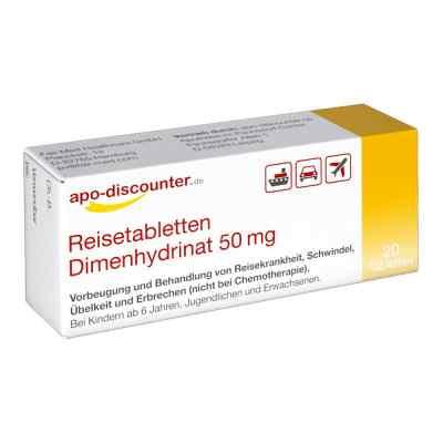 Reisetabletten Dimenhydrinat 50 mg Tabletten von apo-discounter  bei versandapo.de bestellen