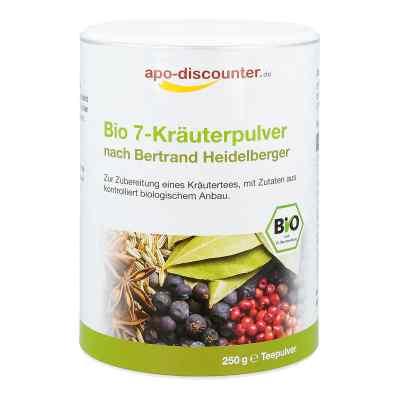 Bio 7-Kräuterpulver nach Bertrand Heidelberger von apo-discounte  bei versandapo.de bestellen