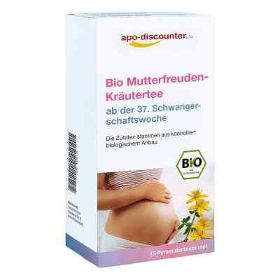 Bio Mutterfreuden-Kräutertee mit Himbeerblätt.Fbtl. von apo-disc  bei versandapo.de bestellen