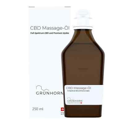 Grünhorn Cbd Massage-öl  bei versandapo.de bestellen