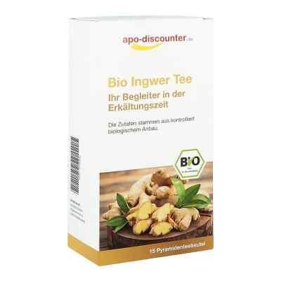 Bio Ingwer Tee Filterbeutel von apo-discounter  bei versandapo.de bestellen