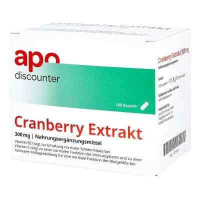 Cranberry Extrakt 300 mg Kapseln von apo-discounter  bei versandapo.de bestellen