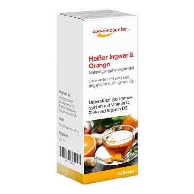 Heisser Ingwer+orange Pulver  bei versandapo.de bestellen
