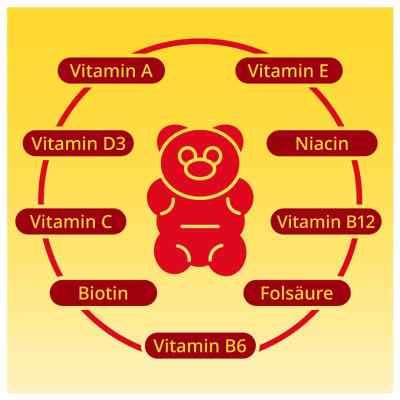 Gummibären Multivitamin vegan und zuckerfrei von apo-discounter  bei versandapo.de bestellen