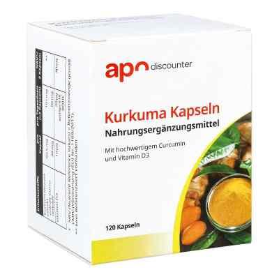 Kurkuma Kapseln mit Curcumin von apo-discounter  bei versandapo.de bestellen