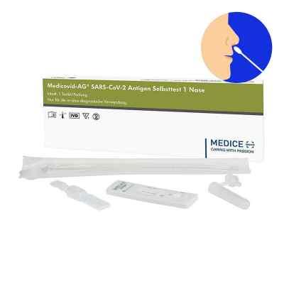 Laientest Medicovid-ag Sars-cov-2 Antigen Selbsttest Nase  bei versandapo.de bestellen